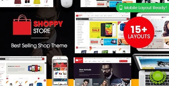 ShoppyStore - Multipurpose Responsive WooCommerce WordPress Theme
