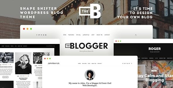 TheBlogger - A WordPress Blogging Theme for Bloggers v1.9.9