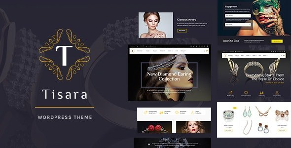 Tisara Jewelry WooCommerce Theme v0.9.0