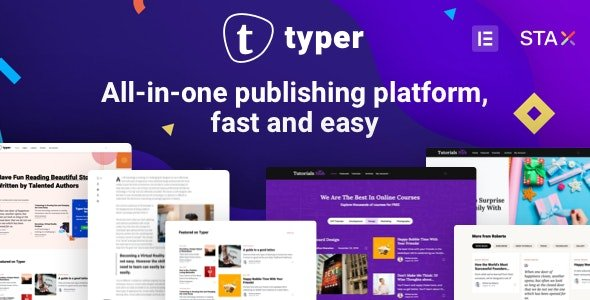 Typer - Amazing Blog and Multi Author Publishing Theme v1.9.0