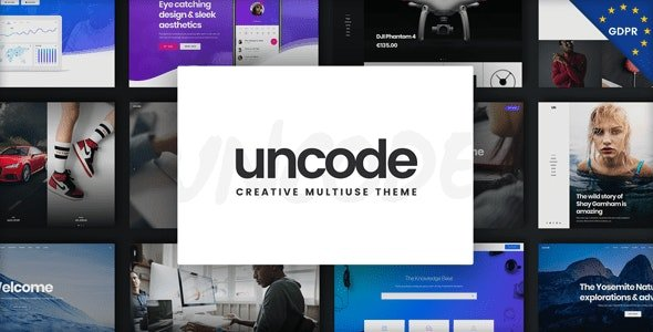 Uncode Creative Multiuse WordPress Theme v2.3.6.1