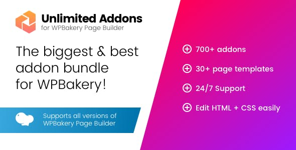 Unlimited Addons for Visual Composer
