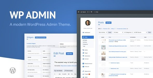 WP Admin Theme CD