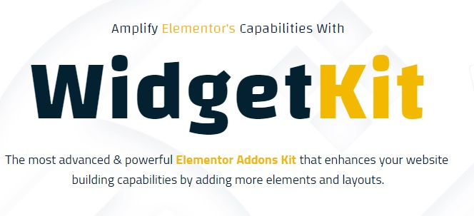 WidgetKit Pro - Huge Collection of Pro Quality Element For Elementor v1.9