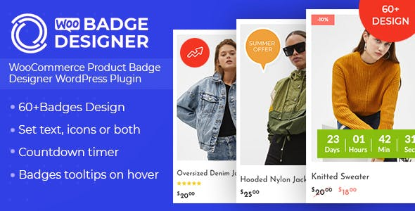 Woo Badge Designer - WooCommerce Product Badge Designer WordPress Plugin v3.0.5
