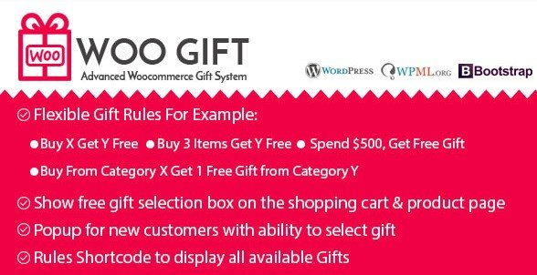 Woo Gift – Advanced Woocommerce Gift Plugin