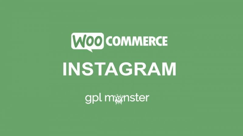 WooCommerce Instagram GPLMonster