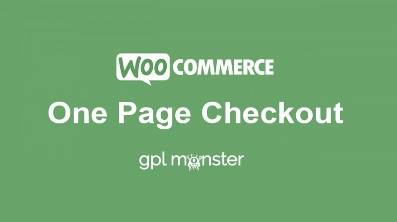 WooCommerce One Page Checkout GPLMonster