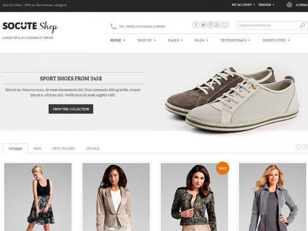 YITH Socute Premium WooCommerce Themes