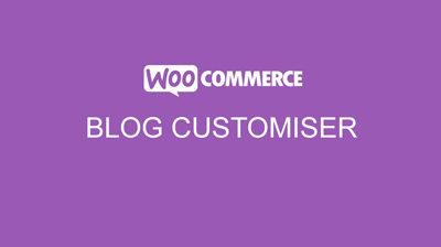 Storefront WooCommerce Customiser