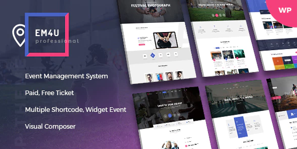 EM4U – Event Tickets WordPress Theme v1.4.2