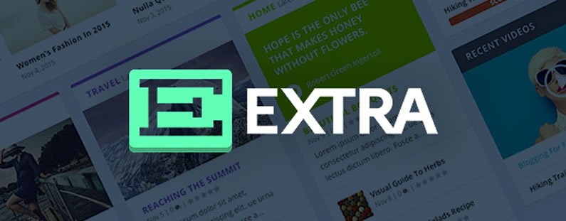 Elegant Themes Extra WordPress Theme v4.9.3