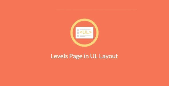 Paid Membership Pro Levels Page in UL Layout v1