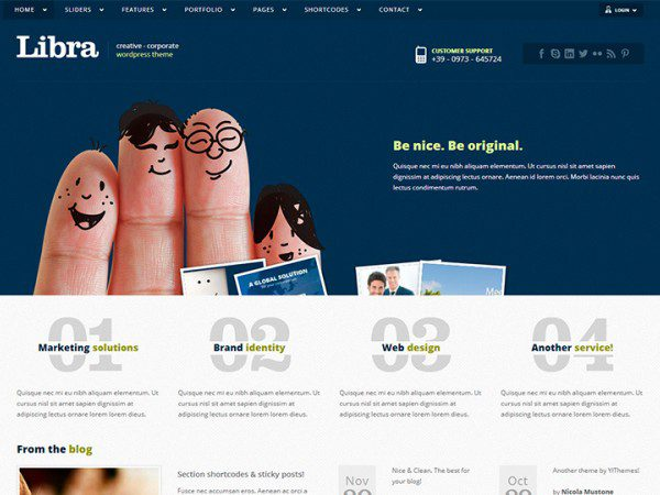 YITH Libra Premium WordPress Themes