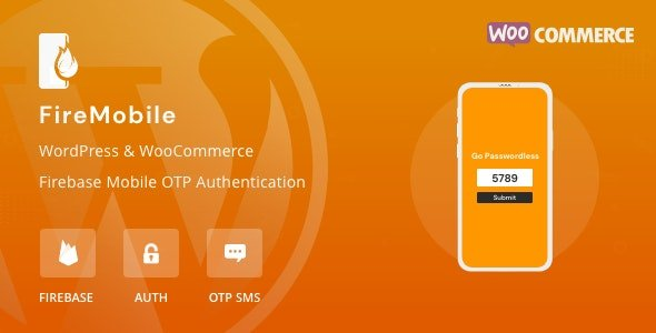 FireMobile - WordPress & WooCommerce Firebase Mobile OTP authentication v1.0.1