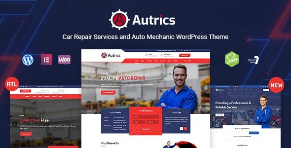 Autrics | Car Services and Auto Mechanic WordPress Theme v2.3