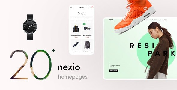 Nexio - Fashion WooCommerce Theme + RTL v1.2.0