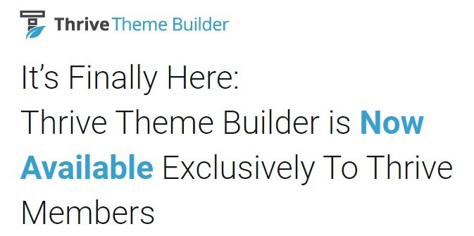 Thrive Theme Builder + Shapeshift Theme v2.0.1